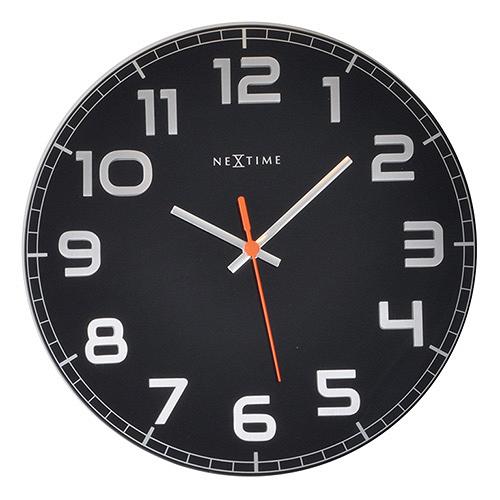 Настенные часы CLASSY (8817ZW)Часы<br>Артикул: 8817ZW. Эти настенные часы полностью отражают свое название – CLASSY. Выполненные в классическом дизайне, они впишутся в любой интерьер, независимо от стиля. Такие часы будут хорошо смотреться как в строгом офисе, так и в современной гостиной. Тихий ход. Дизайн: NeXtime, Нидерланды.<br><br>stock: 38<br>Материал: металл, стекло<br>Цвет: Черный<br>Размер: None<br>Диаметр: 30<br>Страна происхождения: Нидерланды