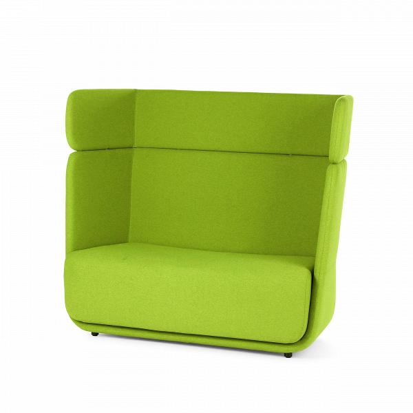 Диван BasketДвухместные<br>Дизайнерский креативный яркий диван Basket (Баскет) с высокой спинкой от Softline (Софтлайн).<br><br><br> Диван Basket разработан как интегрированная модульная система, которая позволяет вам создавать свое пространство так, как нравится вам. Он вдохновлен пляжными креслами-корзинами. Диван спроектировал Маттиас Демакер, немецкий дизайнер. Он одновременно обучался дизайну, работал в архитектурных студиях и сотрудничал с различными мастерскими. Особенность стиля Демакера — создавать простые, но изыск...<br><br>stock: 0<br>Высота: 126<br>Высота сиденья: 42<br>Глубина: 74<br>Длина: 152<br>Материал обивки: Полиэстер<br>Тип материала каркаса: Сталь нержавеющя<br>Коллекция ткани: Valencia<br>Тип материала обивки: Кожа искусственная<br>Цвет обивки: Зеленый<br>Дизайнер: Matthias Demacker