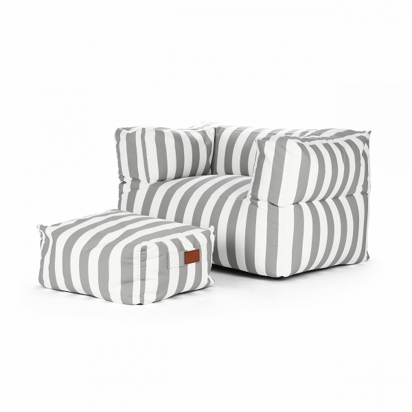 Кресло бескаркасное с пуфом OdeonИнтерьерные<br>Дизайнерское бескаркасное кресло Odeon (Одеон) с подлокотниками и пуфом от Lazy Life Paris (Лэзи Лайф Пэрис).<br><br><br> Известный бренд Lazy Life Paris славится своей бескаркасной мебелью, которая отличается особым комфортом, уютной атмосферой, которую она привносит в помещение, и, что немаловажно, безопасностью для детей. Кресло бескаркасное с пуфом Odeon непременно понравится ценителям домашнего комфорта и полноценного отдыха, который гарантирует вам представленное кресло. Оригинальная цвето...<br><br>stock: 9<br>Высота: 65/30<br>Ширина: 100/60<br>Глубина: 70/50<br>Наполнитель: EPS наполнитель<br>Сфера использования: Уличное использование<br>Материал каркаса: Полиэстер<br>Тип материала каркаса: Ткань<br>Цвет каркаса дополнительный: Коричневый<br>Цвет каркаса: Бежевый