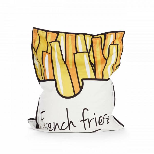 Пуф French FriesПуфы и оттоманки<br>Пуф French Fries (в переводе с английского — «картофель фри») — это яркий жизнерадостный дизайн, который прекрасно сочетается с комфортной минималистичной формой данного предмета мебели. Стильный и немного забавный, пуф непременно порадует творческие натуры, молодых людей и, конечно, детей. Ко всему прочему, пуф имеет спокойную цветовую гамму, потому не утомляет глаза и легко интегрируется в окружающую обстановку.<br><br><br> Пуф French Fries имеет EPS-наполнитель, который известен своими уникал...<br><br>stock: 5<br>Высота: 100<br>Ширина: 80<br>Наполнитель: EPS наполнитель<br>Материал сидения: Полиэстер<br>Цвет сидения: Разноцветный<br>Тип материала сидения: Ткань
