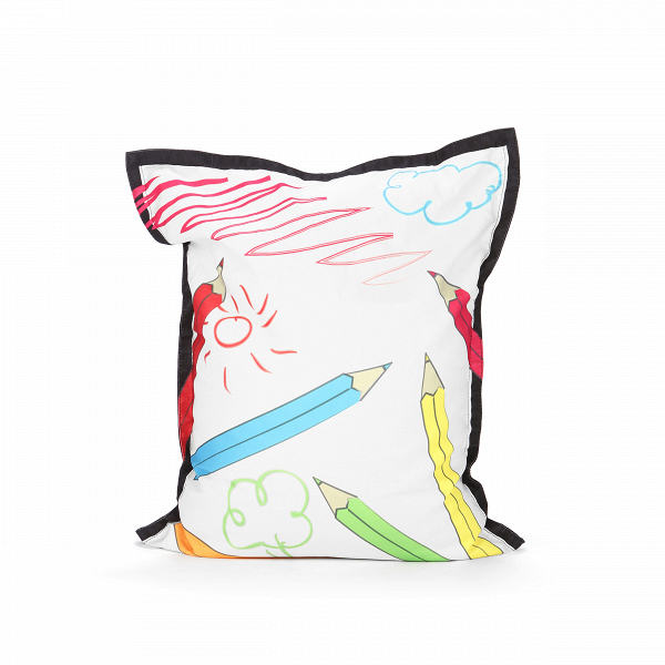Пуф Colour PencilsПуфы и оттоманки<br>Пуф Colour Pencils (в переводе с английского — «цветные карандаши») — это оригинальный предмет интерьера, который станет великолепным дополнением для дома творческого человека, уютной студии или детской комнаты. Пуф имеет яркий веселый рисунок, который придает ему несерьезный и необычайно привлекательный вид. Кроме того, гармоничные цвета рисунка позволяют использовать пуф в сочетании практически с любой цветовой гаммой интерьера.<br><br><br> Пуф Colour Pencils имеет EPS-наполнитель, который изв...<br><br>stock: 2<br>Высота: 100<br>Ширина: 80<br>Наполнитель: EPS наполнитель<br>Материал сидения: Полиэстер<br>Цвет сидения: Разноцветный<br>Тип материала сидения: Ткань