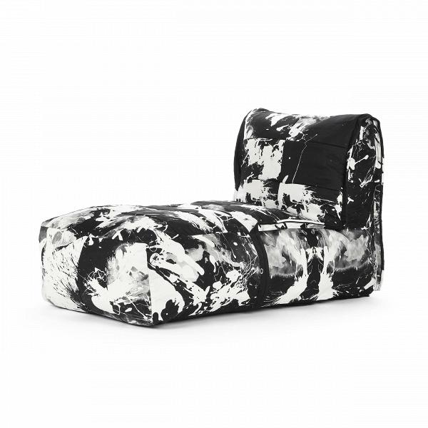 Кресло бескаркасное VavinИнтерьерные<br>Дизайнерское бескаркасное прямоугольное кресло с черно-белым рисунком Vavin (Вэвин) от Lazy Life Paris (Лэзи Лайф Пэрис).<br><br><br> Кресло бескаркасное Vavin — это одно из замечательных творений лучших дизайнеров бренда Lazy Life Paris. Бескаркасная мебель стремительно набирает популярность — в домашнем интерьере такая мебель смотрится наиболее уютно и тепло, не нарушает гармоничного сочетания комнатной обстановки и мягко интегрируется в общий дизайн. Кресло непременно понравится любителям комф...<br><br>stock: 7<br>Высота: 80<br>Ширина: 68<br>Глубина: 143<br>Наполнитель: Пена<br>Материал каркаса: Полиэстер<br>Тип материала каркаса: Ткань<br>Цвет каркаса дополнительный: Белый<br>Цвет каркаса: Черный