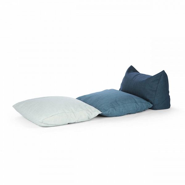 Пуф PigalleПуфы и оттоманки<br>Пуф Pigalle — замечательный вариант мягкой мебели для гостиных и жилых комнат, где преобладает мягкая мебель и плавные черты. Пуф выглядит как набор пузатых, необычайно комфортных подушек, на которые можно как присесть, так и удобно расположиться лежа. Pigalle выполнен в спокойных нейтральных тонах, которые не будут напрягать глаза.<br><br><br> Пуф Pillage имеет EPS-наполнитель, который известен своими уникальными свойствами, такими как влагоустойчивость, экологичность, гипоаллергенность. В тако...<br><br>stock: 5<br>Высота: 50<br>Ширина: 70<br>Глубина: 180<br>Наполнитель: EPS наполнитель<br>Материал сидения: Полиэстер<br>Цвет сидения: Синий<br>Тип материала сидения: Ткань
