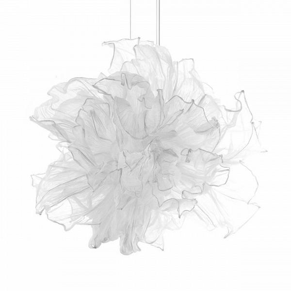 Подвесной светильник FandangoПодвесные<br>Подвесной светильник Fandango парит вВвоздухе подобно девушке, танцующей вВплатье сВразвевающейся пышной юбкой. Лепестки сделаны из хлопчатобумажного муслина, а по их краям вшита проволока. Несколько слоев лепестков, сделанных из ткани, могут быть с помощью проволоки расположены тем способом, который пожелает обладатель светильника.<br><br><br><br><br><br> Подвесной светильник Fandango разработал для фирмы Hive дизайнер Дэнни Фанг. Он закончил Академию Эйндховена в Голландии, а теперь...<br><br>stock: 0<br>Высота: 65<br>Диаметр: 100<br>Количество ламп: 2<br>Материал абажура: Хлопок<br>Материал арматуры: Металл<br>Мощность лампы: 50W<br>Тип лампы/цоколь: G9<br>Дизайнер: Danny Fang