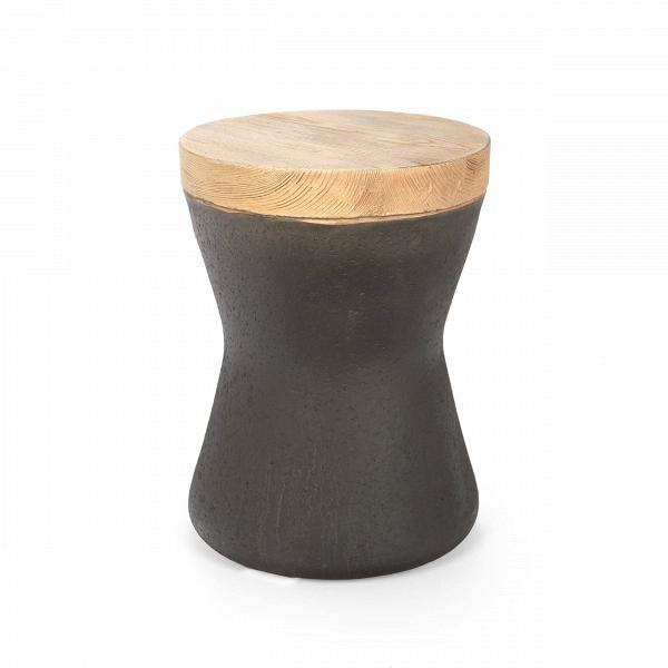 Табурет ToulouseТабуреты<br>Современный темп жизни диктует нам многое: что мы едим, как выглядим и чем обставляем наше жилище. Все чаще мы отдаем предпочтение компактной мебели, все чаще прибегаем к скромным предметам интерьера. Дизайн табурета Toulouse также продиктован современными потребностями. Он небольшой, лаконичный, но при этом он остается стильным. Все это благодаря любви дизайнеров к природным материалам. <br> <br>Однако в связи с тем, что они выражают трепетное отношение к окружающей среде, дизайнеры предпочли за...<br><br>stock: 6<br>Высота: 38<br>Диаметр: 29<br>Тип материала каркаса: Оксид магния<br>Цвет каркаса дополнительный: Дуб<br>Цвет каркаса: Черный