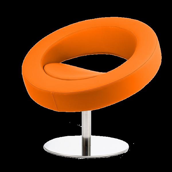 Кресло HelloИнтерьерные<br>Дизайнерское футуристичное круглое кресло Hello (Хеллоу) на узкой ножке цвета хром от Softline (Софтлайн).<br><br><br> Невероятное обаяние и характер. Кресло было заказано датской медиакорпорацией DR специально для Кайли Миноуг — харизматичной поп-дивы и удивительно жизнерадостного человека. Разработать облик необычного подарка взялся опытный дизайнер Флемминг Буск, создатель творческого дуэта и бренда Busk+Hertzog. Буск уже успешно сотрудничал сВSoftline, и в его послужном списке значился ...<br><br>stock: 0<br>Высота: 70<br>Высота сиденья: 40<br>Диаметр: 75<br>Материал обивки: Полиэстер<br>Тип материала каркаса: Сталь нержавеющя<br>Коллекция ткани: Valencia<br>Цвет обивки: Оранжевый<br>Цвет каркаса: Хром<br>Дизайнер: Busk + Hertzog
