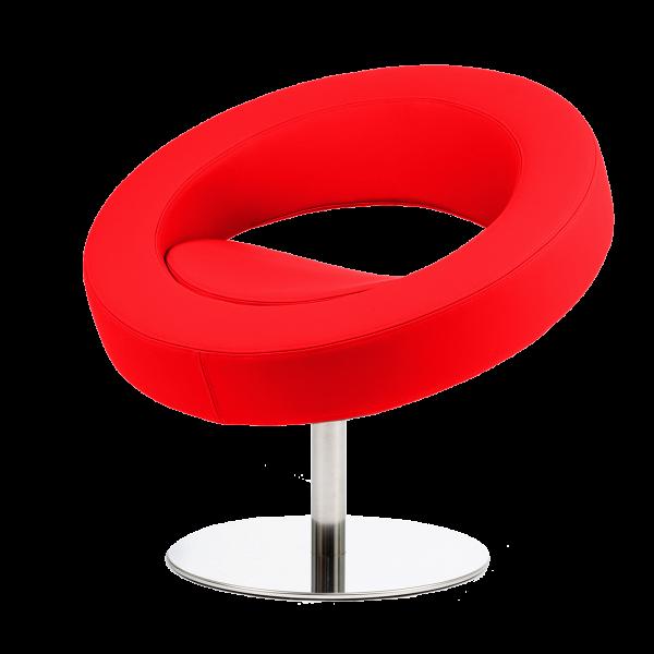Кресло HelloИнтерьерные<br>Дизайнерское футуристичное круглое кресло Hello (Хеллоу) на узкой ножке цвета хром от Softline (Софтлайн).<br><br><br> Невероятное обаяние и характер. Кресло было заказано датской медиакорпорацией DR специально для Кайли Миноуг — харизматичной поп-дивы и удивительно жизнерадостного человека. Разработать облик необычного подарка взялся опытный дизайнер Флемминг Буск, создатель творческого дуэта и бренда Busk+Hertzog. Буск уже успешно сотрудничал сВSoftline, и в его послужном списке значился ...<br><br>stock: 0<br>Высота: 70<br>Высота сиденья: 40<br>Диаметр: 75<br>Материал обивки: Полиэстер<br>Тип материала каркаса: Сталь нержавеющя<br>Коллекция ткани: Valencia<br>Цвет обивки: Красный<br>Цвет каркаса: Хром<br>Дизайнер: Busk + Hertzog