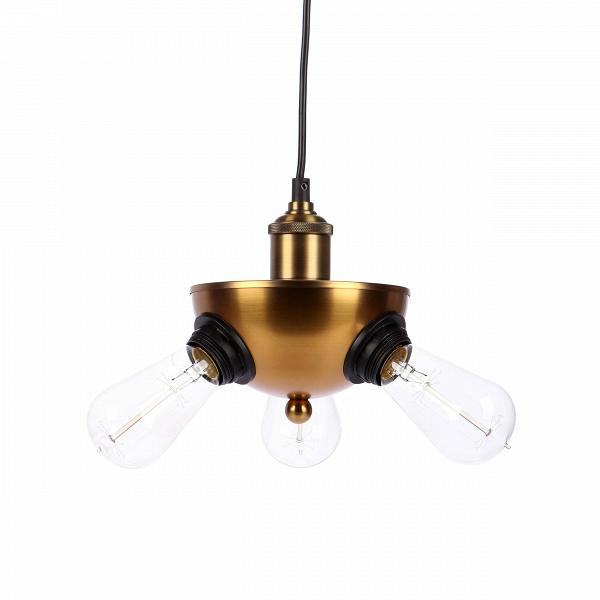 Подвесной светильник Lambert LightingПодвесные<br>Подвесной светильник Lambert Lighting — то смелое и неординарное решение для современного интерьера в популярном сегодня «производственном» стиле лофт. Светильник напоминает некую молекулу и имеет весьма лаконичную форму, которая, однако, непременно привлекает к себе внимание. Металлическое основание подвесного светильника Lambert Lighting выполнено в стильном сочетании черного и бронзового цветов. Имеется три цоколя для лампочек.<br><br><br> Если вы ищете освещение для домашних комнат, то данн...<br><br>stock: 33<br>Высота: 20<br>Диаметр: 20<br>Длина провода: 150<br>Количество ламп: 3<br>Материал абажура: Металл<br>Мощность лампы: 60<br>Ламп в комплекте: Нет<br>Тип лампы/цоколь: E27<br>Цвет абажура: Бронза<br>Цвет провода: Черный