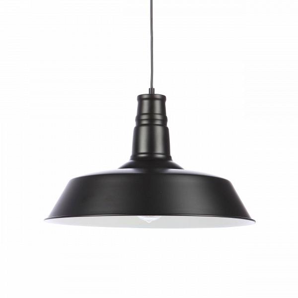 Подвесной светильник Barn Lighting диаметр 46Подвесные<br>Дизайнеры компании Cosmo создали привлекательный и в то же время простой и лаконичный подвесной светильник, который позволит дополнить ваш интерьер спокойными линиями и цветом и который не будет отвлекать на себя внимание от общего интерьера. Подвесной светильник Barn Lighting<br>диаметр 46 — это замечательное дополнение к любому современному интерьеру.<br><br><br> Стильный абажур подвесного светильника Barn Lighting диаметр 46<br>изготовлен из металла черного цвета. Имеется цоколь для одной лам...<br><br>stock: 0<br>Высота: 28<br>Диаметр: 46<br>Длина провода: 150<br>Количество ламп: 1<br>Материал абажура: Металл<br>Мощность лампы: 60<br>Ламп в комплекте: Нет<br>Тип лампы/цоколь: E27<br>Цвет абажура: Черный<br>Цвет провода: Черный