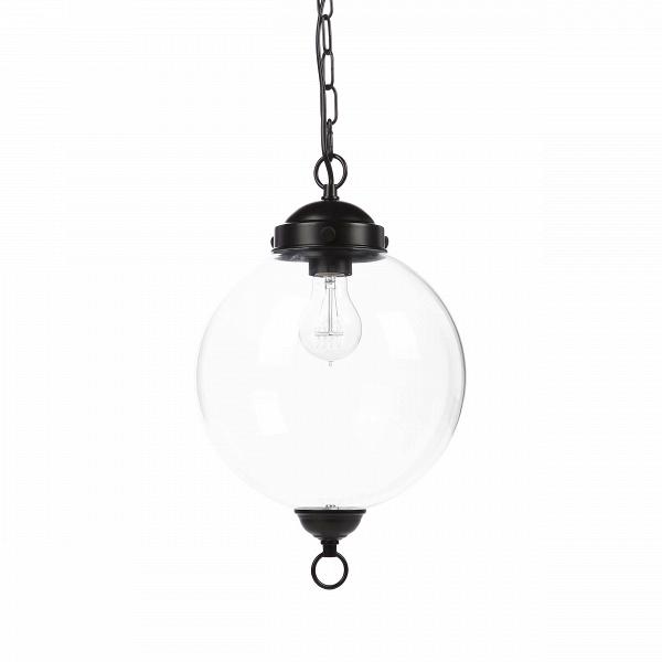 Подвесной светильник Schoolhouse PendantПодвесные<br>Подвесной светильник Schoolhouse Pendant цепляет своей прозрачностью и легкостью, необычайно стильным оформлением, которое весьма универсально и способно подойти практически к любому дизайну вашего помещения. Черный матовый цвет арматуры очень стильно и современно смотрится в сочетании с прозрачным стеклом плафона, что, безусловно, сделает любую комнату особенно привлекательной. Подвесной светильник Schoolhouse Pendant имеет цоколь для одной лампочки.<br><br><br> Данный светильник будет гармони...<br><br>stock: 4<br>Высота: 160<br>Диаметр: 25<br>Количество ламп: 1<br>Материал абажура: Стекло<br>Материал арматуры: Металл<br>Мощность лампы: 60<br>Ламп в комплекте: Нет<br>Тип лампы/цоколь: E27<br>Цвет абажура: Прозрачный<br>Цвет арматуры: Черный матовый<br>Цвет провода: Черный