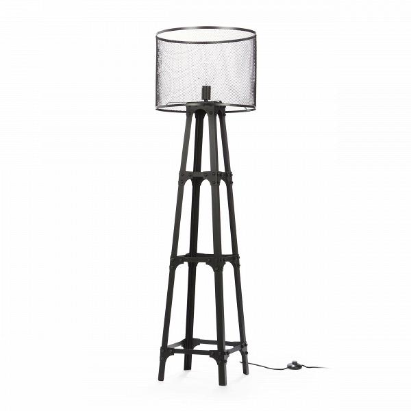 Напольный светильник Edison Miners 2Напольные<br>Напольный светильник Edison Miners 2 — это оригинальное творение ведущих дизайнеров компании Cosmo, которое понравится любителям эпатажного декора и функциональных предметов, своим оформлением вносящих в интерьер особенный шарм и атмосферу. Светильник напоминает лампы, которые используют для освещения шахт или других рабочих зон. Каркас и абажур напольного светильника Edison Miners 2 изготовлены из металла черного цвета. Имеется цоколь для одной лампочки.<br><br><br> Данный светильник буквально...<br><br>stock: 3<br>Высота: 163<br>Диаметр: 45<br>Количество ламп: 1<br>Материал абажура: Металл<br>Мощность лампы: 60<br>Ламп в комплекте: Нет<br>Тип лампы/цоколь: E27<br>Цвет абажура: Черный<br>Цвет провода: Черный