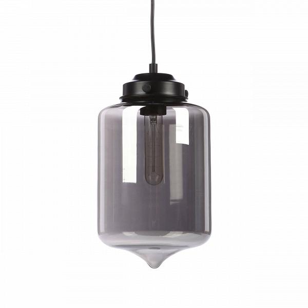 Подвесной светильник Turret LightingПодвесные<br>Дизайнеры современных интерьеров уделяют особое внимание приборам освещения, которые не просто украсят собой помещение, но и зададут ему свою особенную, уникальную атмосферу и уют. Подвесной светильник Turret Lighting отвечает всем требованиям современных интерьерных стилей: он легкий, прозрачный, благодаря чему достигается ощущение большего пространства в комнате и, кроме того, выполнен в приятном матовом черном цвете. Абажур подвесного светильника Turret Lighting<br>изготовлен из прозрач...<br><br>stock: 0<br>Высота: 33<br>Диаметр: 17<br>Длина провода: 150<br>Количество ламп: 1<br>Материал абажура: Стекло<br>Мощность лампы: 60<br>Ламп в комплекте: Нет<br>Тип лампы/цоколь: E27<br>Цвет абажура: Серый<br>Цвет провода: Черный