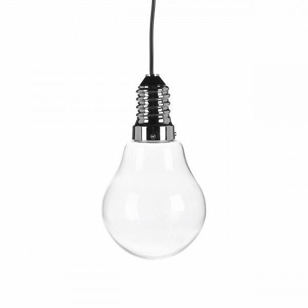 Подвесной светильник LamparaПодвесные<br>Подвесной светильник Lampara<br>В— аутентичная подвесная лампа, идеально подходящая для использования вВиндустриальном интерьере.<br><br><br><br>Этот современный подвесной светильник Lampara подходит для офиса архитектора, мастерской художника или фотографа, аВтакже таких мест, как лофт.<br><br><br>Стоит отметить, что лучше всего модель смотрится в комбинации из нескольких, подвешенных на разном уровне. Такая композиция будет давать куда больше света и выгодно смотреться в современном ин...<br><br>stock: 34<br>Высота: 150<br>Диаметр: 15<br>Материал абажура: Стекло<br>Материал арматуры: Сталь<br>Мощность лампы: 3<br>Ламп в комплекте: Нет<br>Напряжение: 220<br>Тип лампы/цоколь: CREE LED<br>Цвет арматуры: Хром