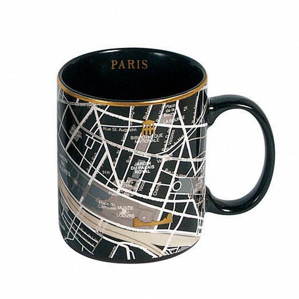 Кружка ParisПосуда<br>Кружка Paris — это кружка, украшенная изображением территории города Парижа сВпригородами. Она выполнена вВчерном цвете сВзолотыми элементами. Кружка входит вВколлекцию изВдевяти дизайнерских кружек сВизображением крупных городов соВвсего мира.<br><br><br><br><br><br><br> Дизайнерские тарелки изВсоответствующей коллекции делают эти кружки просто идеальной столовой комбинацией, подходящей как для завтрака, так иВобеда иВужина вВнепринужденной об...<br><br>stock: 1<br>Высота: 10<br>Материал: Фарфор<br>Цвет: Черный<br>Диаметр: 8