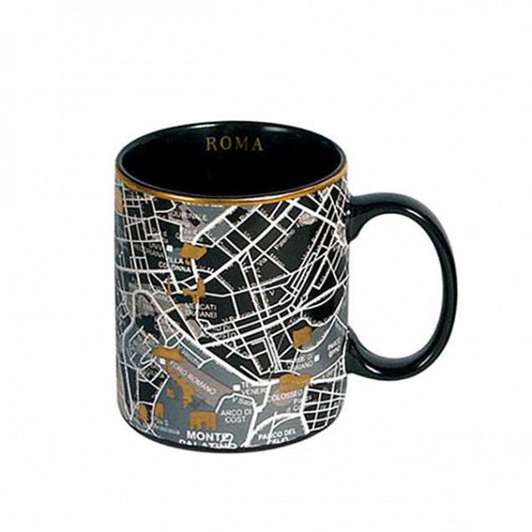 Кружка RomeПосуда<br>Кружка Rome — это кружка, украшенная изображением территории города Рима сВпригородами. Она выполнена вВчерном цвете сВзолотыми элементами. Кружка входит вВколлекцию изВдевяти дизайнерских кружек сВизображением крупных городов соВвсего мира.<br><br><br><br><br><br><br> Дизайнерские тарелки изВсоответствующей коллекции делают эти кружки просто идеальной столовой комбинацией, подходящей как для завтрака, так иВобеда иВужина вВнепринужденной обста...<br><br>stock: 5<br>Высота: 10<br>Материал: Фарфор<br>Цвет: Черный<br>Диаметр: 8