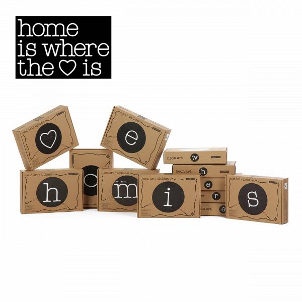 Настенный светильник Neon Art Home Is Where the Love IsНастенные<br>Настенный светильник Neon Art Home Is Where the Love Is — это буквы алфавита, цифры и символы, наВсоздание которых авторов вдохновили классические типографские шрифты. Неоновый светильник добавит яркий иВпричудливый стиль вВлюбую обстановку.<br><br><br><br><br><br><br> Неоновые настенные светильники идеально подходят для использования вВкачестве простых монограмм или для составления вВцелые слова, для создания объявлений, обращающих наВсебя внимание иВпривлекатель...<br><br>stock: 5<br>Ширина: 60<br>Длина: 160<br>Материал абажура: Силикон<br>Материал арматуры: Металл