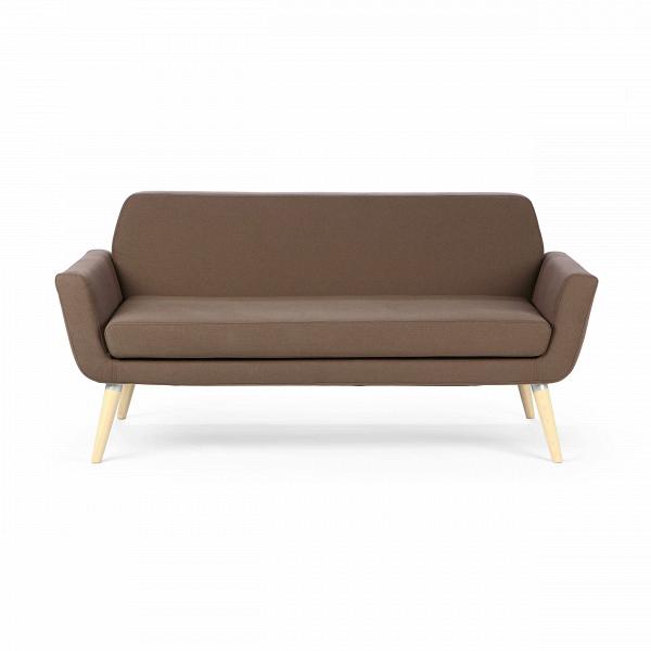 Диван ScopeДвухместные<br>Дизайнерский двухместный небольшой диван Scope (Скоп) на длинных деревянных ножках от Softline (Софтлайн).<br><br><br><br><br> Диван Scope предлагает современный, непринужденный подход кВдизайну диванов: комфорт, высокое качество иВчистые линии, которые всегда будут современными. Диван идеально подходит для городского проживания, где пространство ограничено. Двухместный диван Scope на деревянных ножках. Имеет маленький, удобный размер и чистые прямые линии. <br><br><br> Оригинальный диван выполнен...<br><br>stock: 0<br>Высота: 73<br>Высота сиденья: 39<br>Глубина: 80<br>Длина: 162<br>Цвет ножек: Светло-коричневый<br>Материал ножек: Массив ясеня<br>Материал обивки: Хлопок, Полиакрил<br>Коллекция ткани: Eco Cotton<br>Тип материала обивки: Ткань<br>Тип материала ножек: Дерево<br>Цвет обивки: Коричневый
