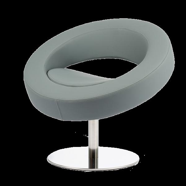 Кресло HelloИнтерьерные<br>Дизайнерское футуристичное круглое кресло Hello (Хеллоу) на узкой ножке цвета хром от Softline (Софтлайн).<br><br><br> Невероятное обаяние и характер. Кресло было заказано датской медиакорпорацией DR специально для Кайли Миноуг — харизматичной поп-дивы и удивительно жизнерадостного человека. Разработать облик необычного подарка взялся опытный дизайнер Флемминг Буск, создатель творческого дуэта и бренда Busk+Hertzog. Буск уже успешно сотрудничал сВSoftline, и в его послужном списке значился ...<br><br>stock: 1<br>Высота: 70<br>Высота сиденья: 40<br>Диаметр: 75<br>Материал обивки: Полиэстер<br>Тип материала каркаса: Сталь нержавеющя<br>Коллекция ткани: Valencia<br>Цвет обивки: Серый<br>Цвет каркаса: Хром<br>Дизайнер: Busk + Hertzog