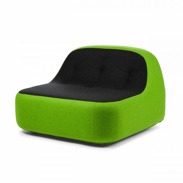 Кресло SandИнтерьерные<br>Дизайнерское футуристичное широкое кресло Sand (Сэнд) округлой формы без подлокотников от Softline (Софтлайн).<br><br> Кресло Sand — это ультрасовременный дизайн, вдохновленный природой. На его создание испанских дизайнеров Хосе Эстебана и Хавьера Морено вдохновила вода, которая вВтечение долгого времени шлифует и изменяет камни, лежащие наВее пути, иВпостоянно создает новые формы.<br><br><br><br> Хосе Эстебан начал свою карьеру в 1992 году сразу в нескольких различных направлениях — ди...<br><br>stock: 0<br>Высота: 71<br>Высота сиденья: 36<br>Ширина: 100<br>Глубина: 100<br>Материал обивки: Шерсть, Полиамид<br>Цвет обивки дополнительный: Зеленый<br>Коллекция ткани: Felt<br>Тип материала обивки: Ткань<br>Цвет обивки: Антрацит