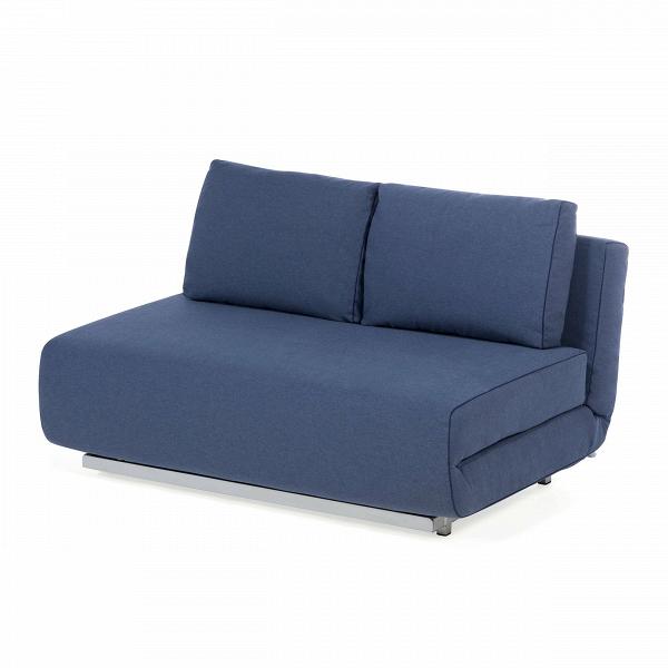 Диван CityРаскладные<br>Дизайнерский двухместный диван City (Сити) без подлокотников на стальных ножках от Softline (Софтлайн).<br><br><br><br><br> Диван City может принимать два различных положения иВидеально подходит для небольшой квартиры или комнаты, где нужны как просто диван, так и удобное спальное место. Диван City — это компактная мебель, идеально подходящая для маленьких городских пространств. Стиль, комфорт — иВвосемь положений спинки. Диван входит в состав серии City, состоящей из дивана и кресла.<br><br><br> О...<br><br>stock: 0<br>Высота: 78<br>Высота сиденья: 41<br>Глубина: 98<br>Длина: 150<br>Цвет ножек: Серый<br>Материал обивки: Хлопок, Полиэстер<br>Коллекция ткани: Vision<br>Тип материала обивки: Ткань<br>Тип материала ножек: Сталь<br>Цвет обивки: Тёмно-синий