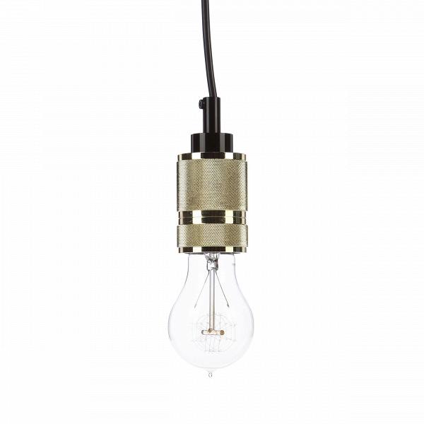 Подвесной светильник Gold CapПодвесные<br>Никакой интерьер не обойдется без света. Даже если найдется тот, кто наотрез отказывается от центрального освещения, в его доме непременно окажется с десяток светильников. ПередВвами подвесной светильник Gold CapВ— источник света, создающий самую располагающую к отдыху атмосферу.<br> В<br> Данная модель светильника предназначена для ламп накаливания. Наиболее подходящими окажутся лампочки от российского бренда Electro Retro с замысловатой нитью накаливания. Это популярный в любом с...<br><br>stock: 3<br>Высота: 10.5<br>Диаметр: 4.8<br>Длина провода: 150<br>Материал абажура: Металл<br>Мощность лампы: 60<br>Ламп в комплекте: Нет<br>Тип лампы/цоколь: E27<br>Цвет абажура: Золотой