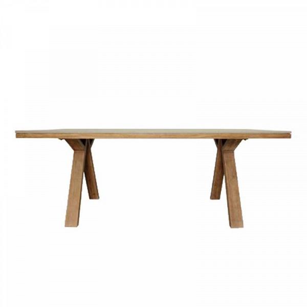 Стол Милано (Milano Dining Table)Обеденные<br>ROOMERS – это особенная коллекция, воплощение всего самого лучшего, модного и новаторского в мире дизайнерской мебели, предметов декора и стильных аксессуаров.<br><br>Интерьерные решения от ROOMERS в буквальном смысле не имеют границ. Мебель, предметы декора, светильники и аксессуары тщательно отбираются по всему миру – в последних коллекциях знаменитых дизайнеров и культовых брендов, среди искусных работ hand-made мастеров Европы и Юго-Восточной Азии во время большого и увлекательного путешествия,...<br><br>stock: 1<br>Высота: 76<br>Ширина: 100<br>Материал: массив тика, стекловолокно<br>Длина: 200