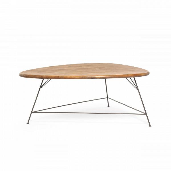 Стол Бермуда (Bermuda CT)Кофейные столики<br>ROOMERS – это особенная коллекция, воплощение всего самого лучшего, модного и новаторского в мире дизайнерской мебели, предметов декора и стильных аксессуаров.<br><br>Интерьерные решения от ROOMERS в буквальном смысле не имеют границ. Мебель, предметы декора, светильники и аксессуары тщательно отбираются по всему миру – в последних коллекциях знаменитых дизайнеров и культовых брендов, среди искусных работ hand-made мастеров Европы и Юго-Восточной Азии во время большого и увлекательного путешествия,...<br><br>stock: 1<br>Высота: 35<br>Ширина: 72<br>Материал: массив тика, металл<br>Длина: 90