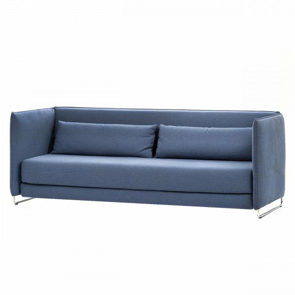 Диван MetroРаскладные<br>Дизайнерский двухместный диван Metro (Метро) с обивкой из ткани на стальных ножках от Softline (Софтлайн).<br><br> Диван Metro — это практичный, современный иВстильный трехместный диван для длительного иВудобного использования. Объедините раскладной диван Metro сВдругой мебелью коллекции Softline, чтобы создать шикарный интерьер, обладающий современной энергетикой. При желании раскладной диван Metro может быть легко превращен вВкровать.<br><br><br><br><br><br> Оригинальный диван Metro — т...<br><br>stock: 0<br>Высота: 78<br>Высота сиденья: 38<br>Глубина: 92<br>Длина: 218<br>Материал обивки: Хлопок, Полиэстер<br>Коллекция ткани: Vision<br>Тип материала обивки: Ткань<br>Цвет обивки: Синий<br>Дизайнер: Busk + Hertzog