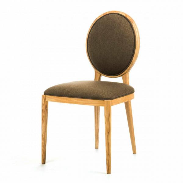 Стул LavalИнтерьерные<br>Дизайнерский классический стул Laval (Лавал) с круглой спинкой оливкового цвета на деревянном каркасе от Stellar works от Stellar works (Стеллар Воркс).<br><br><br> Бренд Stellar Works специализируется на создании мебели в различной, мультинациональной стилистике. Французский шик, китайская традиционность, итальянская страсть, скандинавский минимализм... На сей раз дизайнеры представили модель кресла по французским мотивам. <br><br>Коллекция явилась плодом совместной работы французского производителя м...<br><br>stock: 3<br>Высота: 85,7<br>Ширина: 45,5<br>Глубина: 50,3<br>Материал каркаса: Массив ясеня<br>Тип материала каркаса: Дерево<br>Цвет сидения: Оливковый<br>Тип материала сидения: Ткань<br>Цвет каркаса: Светло-коричневый