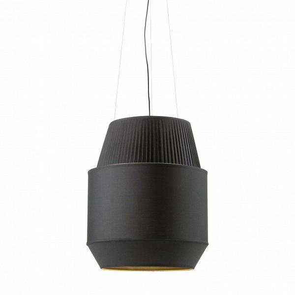 Подвесной светильник Delta IIПодвесные<br><br><br>stock: 19<br>Высота: 60<br>Ширина: 50<br>Длина: 50<br>Материал абажура: Ткань<br>Материал арматуры: Металл<br>Ламп в комплекте: Нет<br>Напряжение: 220<br>Тип лампы/цоколь: E27<br>Цвет абажура: Черный<br>Дизайнер: Rich Brilliant Willing