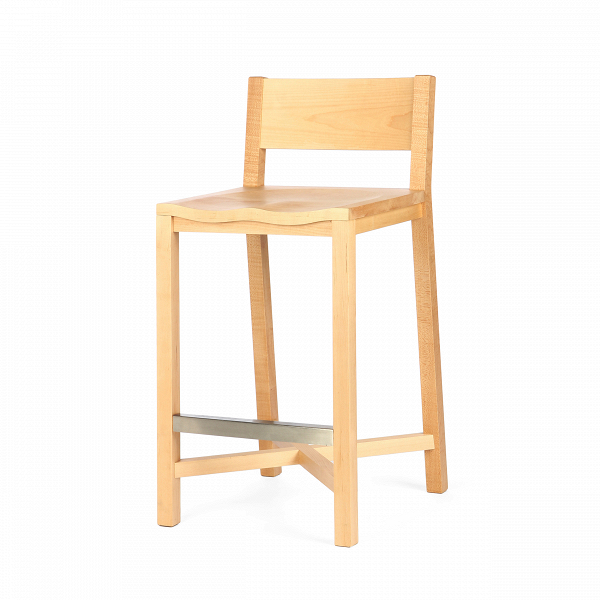 Полубарный стул TomokoПолубарные<br>Массивный и прочный полубарный стул TomokoВстанет вам надежной опорой всегда, когда вам понадобится отдохнуть и расслабиться. ДизайнВстула Tomoko, безусловно, уникален.ВВид простыхВмассивныхВдеталейВизделия является новымВи уникальнымВрешением в дизайне отВШона Дикса.ВЭлегантность и классический видВизделия непременно сыграют важную роль в оживлении любого интерьера в скандинавском стиле.<br> <br> Полубарный стул Tomoko многофункционален. Это...<br><br>stock: 0<br>Высота: 93,5<br>Высота сиденья: 68,5<br>Ширина: 43<br>Глубина: 50,4<br>Материал каркаса: Массив клена<br>Тип материала каркаса: Дерево<br>Цвет каркаса: Светло-коричневый<br>Дизайнер: Sean Dix