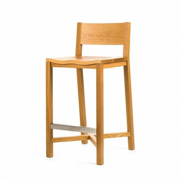 Полубарный стул TomokoПолубарные<br>Массивный и прочный полубарный стул TomokoВстанет вам надежной опорой всегда, когда вам понадобится отдохнуть и расслабиться. ДизайнВстула Tomoko, безусловно, уникален.ВВид простыхВмассивныхВдеталейВизделия является новымВи уникальнымВрешением в дизайне отВШона Дикса.ВЭлегантность и классический видВизделия непременно сыграют важную роль в оживлении любого интерьера в скандинавском стиле.<br> <br> Полубарный стул Tomoko многофункционален. Это...<br><br>stock: 0<br>Высота: 93,5<br>Высота сиденья: 68,5<br>Ширина: 43<br>Глубина: 50,4<br>Материал каркаса: Массив дуба<br>Тип материала каркаса: Дерево<br>Цвет каркаса: Дуб<br>Дизайнер: Sean Dix