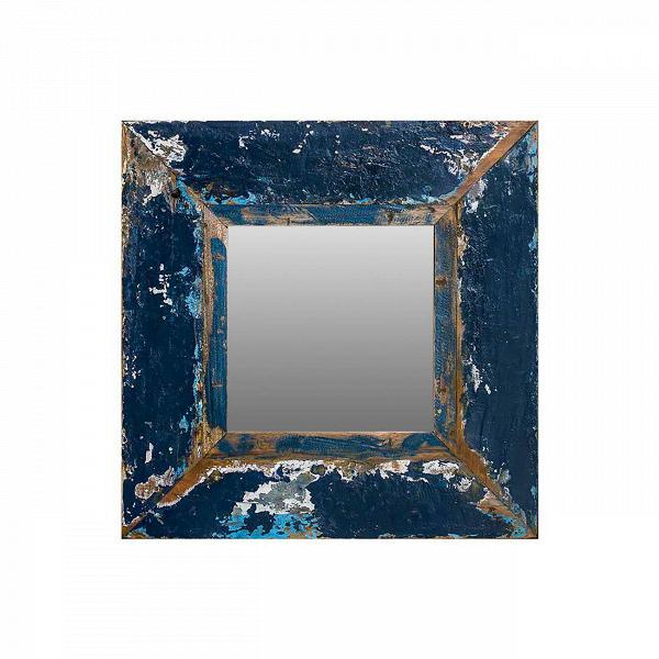 Зеркало Свет мой зеркальце 60Настенные<br>Зеркало Свет мой зеркальце высота 60 выполнено из массива древесины старого рыбацкого судна, такой как тик, махагон, суар, с сохранением оригинальной многослойной окраски. Древесина обладает высокой износостойкостью, долговечностью и водоотталкивающими свойствами. Ее использовали индонезийские рыбаки для создания лодок, а мебель из нее подходит для использования как внутри помещения, так и снаружи. Покрыто натуральным шеллаком.<br><br><br> Зеркало Свет мой зеркальце высота 60 сделано из частей т...<br><br>stock: 0<br>Высота: 60<br>Ширина: 60<br>Глубина: 4<br>Материал: Тик<br>Цвет: Синий