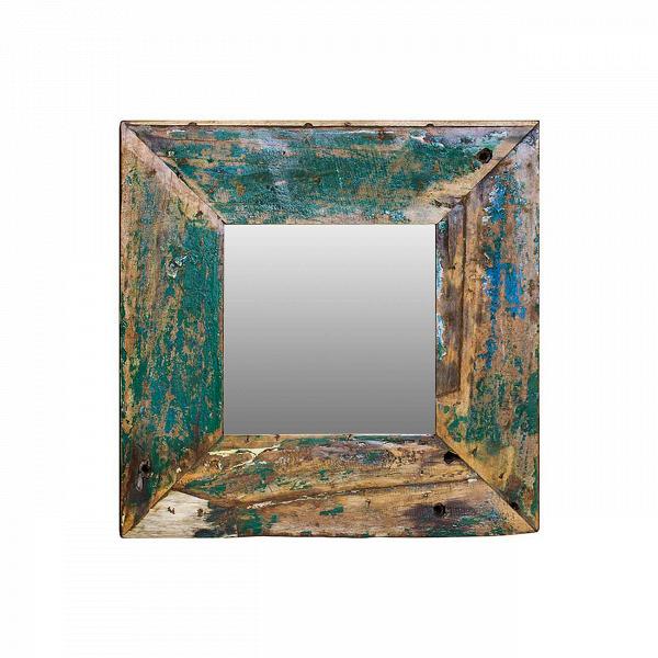 Зеркало Свет мой зеркальце 60Настенные<br>Зеркало Свет мой зеркальце высота 60 выполнено из массива древесины старого рыбацкого судна, такой как тик, махагон, суар, с сохранением оригинальной многослойной окраски. Древесина обладает высокой износостойкостью, долговечностью и водоотталкивающими свойствами. Ее использовали индонезийские рыбаки для создания лодок, а мебель из нее подходит для использования как внутри помещения, так и снаружи. Покрыто натуральным шеллаком.<br><br><br> Зеркало Свет мой зеркальце высота 60 сделано из частей т...<br><br>stock: 0<br>Высота: 60<br>Ширина: 60<br>Глубина: 4<br>Материал: Тик<br>Цвет: Зелёный