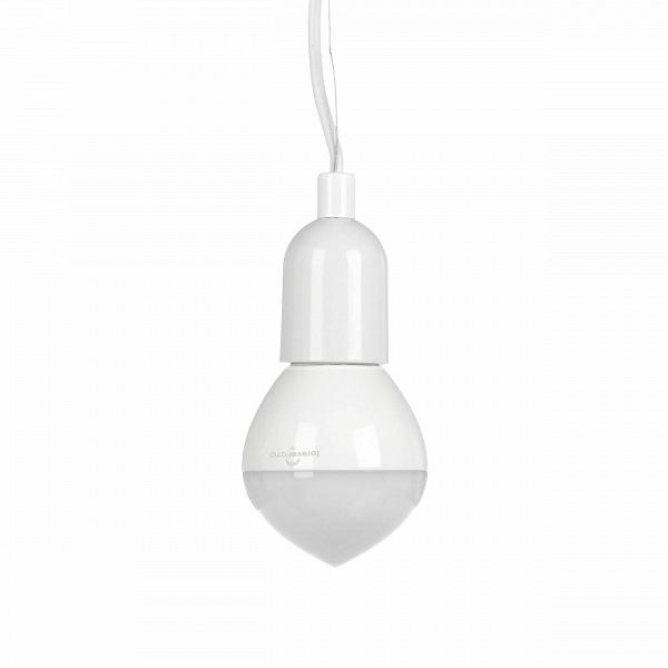 Подвесной светильник Dr Ceiling FlameПодвесные<br><br><br>stock: 2<br>Материал абажура: Стекло<br>Материал арматуры: Металл<br>Цвет абажура: Белый