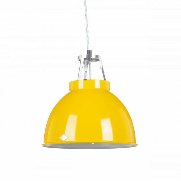 Подвесной светильник Titan Size 1Подвесные<br>Подвесной светильник Titan диаметр 35,5 производства английской компании Original BTCВ— это оригинальный ретродизайн вВстиле 1940-х годов, воплощенный вВдухе функциональности, лаконичности иВпрактичности. Этот светильник будет одинаково уместен вВбольшинстве стилевых решений интерьеров. Спокойный, «необработанный» дизайн идеально подходит для использования вВрамках индустриального стиля, для освещения баров, коворкингов, лофтов иВдругих просторных помещен...<br><br>stock: 1<br>Высота: 36<br>Диаметр: 35.5<br>Доп. цвет абажура: Белый<br>Количество ламп: 1<br>Материал абажура: Металл<br>Мощность лампы: 150<br>Напряжение: 230<br>Тип лампы/цоколь: E27<br>Цвет абажура: Желтый