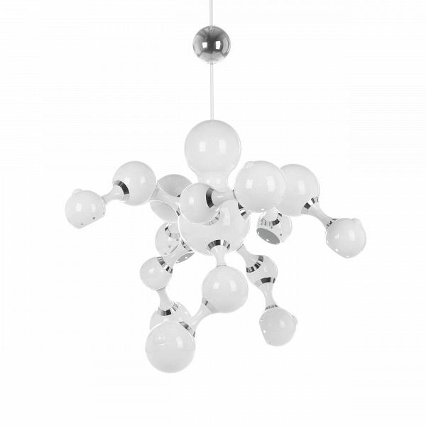 Подвесной светильник PearlsПодвесные<br>Подвесной светильник Pearls — это оригинальное творение западных дизайнеров, которое представляет собой интересную композицию из шарообразных фигур, напоминающих нежные жемчужины. Необыкновенно красивое сочетание цветов и линий светильника создают спокойную атмосферу с легким оттенком романтики.<br><br><br> Абажур светильника сделан из качественного алюминия, а держатели и крепления — из стали. Такое сочетание материалов гарантирует надежность и долговечность изделия. На выбор предлагается два ...<br><br>stock: 1<br>Высота: 68<br>Диаметр: 85<br>Количество ламп: 8<br>Материал абажура: Алюминий<br>Материал арматуры: Сталь<br>Мощность лампы: 40<br>Ламп в комплекте: Нет<br>Напряжение: 220<br>Тип лампы/цоколь: G9<br>Цвет абажура: Белый<br>Цвет арматуры: Белый