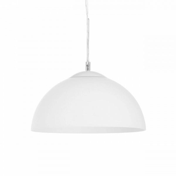 Подвесной светильник Glass HemisphereПодвесные<br>Подвесной светильник Glass Hemisphere — это простой и понятный источник освещения, созданный лучшими западными дизайнерами специально для комнат, которые нужно лишь дополнить привлекательной деталью, а не перегружать ее излишним декором. Светильник имеет форму полусферы и отлично подойдет для помещений как в классическом стиле, так и во многих современных, таких как лофт, минимализм и т.д.<br><br><br><br><br> Абажур, а также крепления и держатель светильника изготовлены из непрозрачного стекла прия...<br><br>stock: 0<br>Высота: 21,5<br>Диаметр: 37<br>Количество ламп: 1<br>Материал абажура: Стекло<br>Материал арматуры: Стекло<br>Мощность лампы: 60<br>Ламп в комплекте: Нет<br>Напряжение: 220<br>Тип лампы/цоколь: E27<br>Цвет абажура: Белый