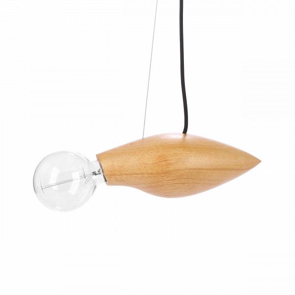 Подвесной светильник Squid длина 37,5Подвесные<br>Известный шведский дизайнер, выходец из Курдистана Джангир Маддади создал весьма оригинальный и интересный светильник, который непременно порадует ценителей и любителей нестандартных предметов домашнего освещения и декора. Подвесной светильник Squid длина 37,5<br>имеет очень небольшие размеры, а сочетание материалов позволяет вам использовать его в самых разных интерьерах, от стильного современного до более традиционных.<br><br><br> Светильник изготовлен из натуральной высококачественной древес...<br><br>stock: 9<br>Высота: 200<br>Ширина: 15<br>Длина: 37,5<br>Количество ламп: 1<br>Материал абажура: Дерево<br>Мощность лампы: 60<br>Ламп в комплекте: Нет<br>Напряжение: 220<br>Тип лампы/цоколь: E27<br>Цвет абажура: Бежевый<br>Цвет провода: Черный