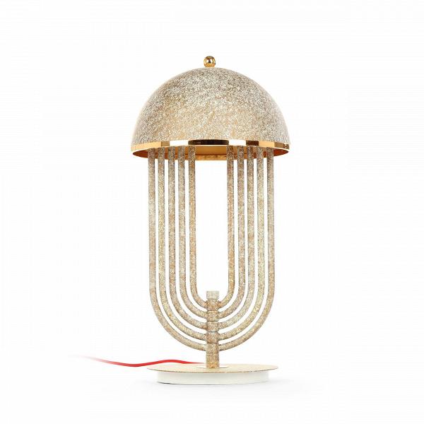 Настольный светильник Tina TurnerНастольные<br>Настольный светильник Tina Turner — это экспрессивное изделие, созданное известными западными дизайнерами фирмы Delightfull, которые черпали вдохновение из творчества знаменитой королевы рок-н-ролла Тины Тернер. Данный осветительный прибор обладает яркой индивидуальностью и стильным, запоминающимся дизайном. Дизайнеры постарались вложить в свою работу артистичность и блеск, свойственный знаменитой танцовщице и певице.<br><br><br> Настольный светильник Tina Turner изготовлен из качественной, проч...<br><br>stock: 6<br>Высота: 60<br>Диаметр: 30.5<br>Количество ламп: 3<br>Материал абажура: Сталь<br>Материал арматуры: Сталь<br>Мощность лампы: 40<br>Ламп в комплекте: Нет<br>Напряжение: 220<br>Тип лампы/цоколь: G9<br>Цвет абажура: Античный<br>Цвет арматуры: Античный