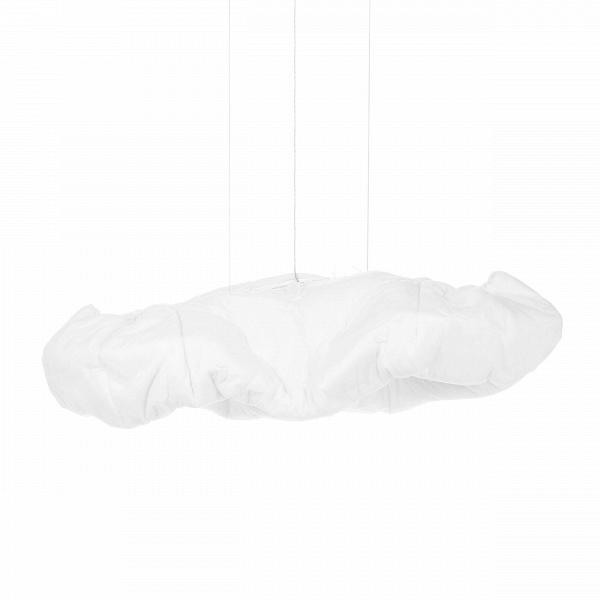 Подвесной светильник Cloud 1Подвесные<br>Подвесной светильник Cloud 1 — это легкое и воздушное изделие, которое полностью оправдывает свое название (в переводе с английского Cloud — «облако»). Словно пушистое облако в ясном небе, изделие светится изнутри, а из-за его удивительной формы его так и хочется потрогать.<br><br><br><br><br> Подвесной светильник Cloud 1 изготовлен из композитного материала, благодаря чему достигается высокая прочность и долговечность всего изделия. Крепления и держатель светильника выполнены из стали, что обеспечи...<br><br>stock: 3<br>Высота: 55<br>Ширина: 150<br>Диаметр: 50<br>Количество ламп: 4<br>Материал абажура: Композитный материал<br>Материал арматуры: Сталь<br>Мощность лампы: 24<br>Ламп в комплекте: Нет<br>Напряжение: 220<br>Тип лампы/цоколь: E27<br>Цвет абажура: Белый<br>Цвет арматуры: Белый