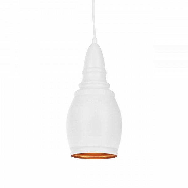 Подвесной светильник Thai Stupa диаметр 14Подвесные<br>Подвесной светильник Thai Stupa диаметр 14 обладает универсальным дизайном, который легко впишется практически в любой тип интерьера. Известные западные дизайнеры постарались сделать его нейтральным и спокойным, он не будет перегружать интерьер, но зато дополнит его своей мягкой, плавной формой и светлыми цветами. Светильник может гармонично сочетаться как с современными стилями, так и с более традиционными направлениями в интерьерном дизайне.<br><br><br> Абажур, или «колокол» светильника, сдел...<br><br>stock: 10<br>Высота: 200<br>Диаметр: 13,8<br>Доп. цвет абажура: Золотой<br>Количество ламп: 1<br>Материал абажура: Алюминий<br>Материал арматуры: Сталь<br>Мощность лампы: 40<br>Ламп в комплекте: Нет<br>Напряжение: 220<br>Тип лампы/цоколь: E27<br>Цвет абажура: Белый матовый<br>Цвет арматуры: Белый матовый