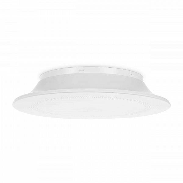 Потолочный светильник Concentric CirclesПотолочные<br>Известнейшие западные дизайнеры создали светильник, который обязательно порадует любителей оригинальных источников освещения в стиле минимализм, футуризм или хай-тек. Потолочный светильник Concentric Circles<br>имеет правильную форму круга белого матового цвета.<br><br><br><br><br> Абажур потолочного светильника Concentric Circles<br>изготовлен из популярного сегодня материала акрил, который обладает особой прочностью и в то же время гибкостью и пластичностью в изготовлении. Материал невероятно легк...<br><br>stock: 7<br>Высота: 8<br>Диаметр: 45<br>Количество ламп: 1<br>Материал абажура: Акрил<br>Материал арматуры: Сталь<br>Мощность лампы: 32<br>Ламп в комплекте: Нет<br>Напряжение: 220<br>Тип лампы/цоколь: T5 circular<br>Цвет абажура: Белый