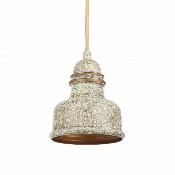 Подвесной светильник Thai Stupa диаметр 12,5Подвесные<br>Подвесной светильник Thai Stupa диаметр 12,5 — это идеальное решение для маленьких помещений или для части комнаты, где необходимо точечное освещение. Созданный известными западными дизайнерами, светильник обладает и современными чертами, роднящими его с такими стилями, как лофт или модерн, и чертами более традиционных стилей с их плавными линиями и утонченной цветовой палитрой. Thai Stupa напоминает своеобразный купол или миниатюрный колокол и особенно понравится любителям нейтрального сп...<br><br>stock: 5<br>Высота: 200<br>Диаметр: 12,5<br>Доп. цвет абажура: Золотой<br>Количество ламп: 1<br>Материал абажура: Алюминий<br>Материал арматуры: Сталь<br>Мощность лампы: 40<br>Тип лампы/цоколь: E27<br>Цвет абажура: Антикварный<br>Цвет арматуры: Антикварный