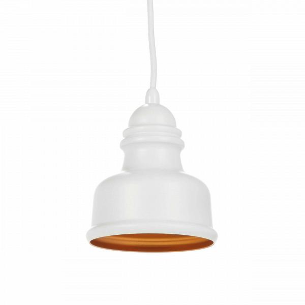 Подвесной светильник Thai Stupa диаметр 12,5Подвесные<br>Подвесной светильник Thai Stupa диаметр 12,5 — это идеальное решение для маленьких помещений или для части комнаты, где необходимо точечное освещение. Созданный известными западными дизайнерами, светильник обладает и современными чертами, роднящими его с такими стилями, как лофт или модерн, и чертами более традиционных стилей с их плавными линиями и утонченной цветовой палитрой. Thai Stupa напоминает своеобразный купол или миниатюрный колокол и особенно понравится любителям нейтрального сп...<br><br>stock: 8<br>Высота: 200<br>Диаметр: 12,5<br>Доп. цвет абажура: Золотой<br>Количество ламп: 1<br>Материал абажура: Алюминий<br>Материал арматуры: Сталь<br>Мощность лампы: 40<br>Ламп в комплекте: Нет<br>Напряжение: 220<br>Тип лампы/цоколь: E27<br>Цвет абажура: Белый матовый<br>Цвет арматуры: Белый матовый