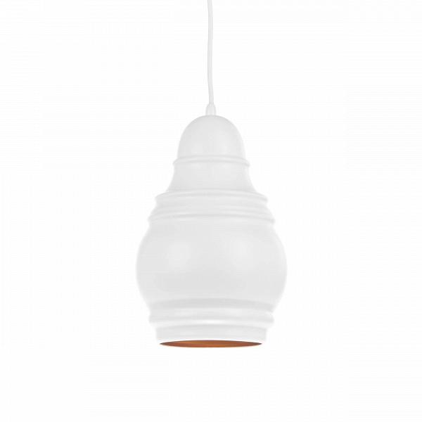 Подвесной светильник Thai Stupa диаметр 19Подвесные<br>Подвесной светильник Thai Stupa диаметр 19 может выступать как в качестве основного, так и в качестве дополнительного источника света. Светильник, созданный западными дизайнерами, имеет привлекательное оформление, которое к тому же довольно универсально и подойдет для самых разных интерьеров в самых разных стилях.<br><br><br> Абажур, или «колокол» светильника, сделан из прочного алюминия и крепится посредством надежных стальных креплений и держателя. Изделие выполнено в приятном белом цвете, ко...<br><br>stock: 1<br>Высота: 200<br>Диаметр: 19,2<br>Доп. цвет абажура: Золотой<br>Количество ламп: 1<br>Материал абажура: Алюминий<br>Материал арматуры: Сталь<br>Мощность лампы: 40<br>Ламп в комплекте: Нет<br>Напряжение: 220<br>Тип лампы/цоколь: E27<br>Цвет абажура: Белый матовый<br>Цвет арматуры: Белый матовый