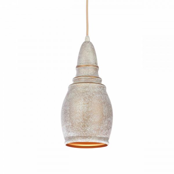 Подвесной светильник Thai Stupa диаметр 14Подвесные<br>Подвесной светильник Thai Stupa диаметр 14 обладает универсальным дизайном, который легко впишется практически в любой тип интерьера. Известные западные дизайнеры постарались сделать его нейтральным и спокойным, он не будет перегружать интерьер, но зато дополнит его своей мягкой, плавной формой и светлыми цветами. Светильник может гармонично сочетаться как с современными стилями, так и с более традиционными направлениями в интерьерном дизайне.<br><br><br> Абажур, или «колокол» светильника, сдел...<br><br>stock: 1<br>Высота: 200<br>Диаметр: 13,8<br>Доп. цвет абажура: Золотой<br>Количество ламп: 1<br>Материал абажура: Алюминий<br>Материал арматуры: Сталь<br>Мощность лампы: 40<br>Ламп в комплекте: Нет<br>Напряжение: 220<br>Тип лампы/цоколь: E27<br>Цвет абажура: Антикварный<br>Цвет арматуры: Антикварный