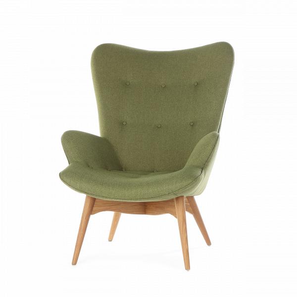 Кресло Contour 2Интерьерные<br>Дизайнерское глубокое кресло Contour 2 (Кантур 2) обивкой из ткани на деревянных ножках от Cosmo (Космо).<br><br><br> Австралийцы любят хороший дизайн воВвсем, отВоформления винных бочонков доВсерферных досок. Одним изВсамых ярких дизайнеров стал художник Грант Фезерстон, который начал заниматься дизайном в сороковых годах прошлого столетия иВсВтех пор стал иконой стиля воВвсем мире.<br><br><br> Идеальное как для прихожей, так иВдля гостиной, оригинальное кресл...<br><br>stock: 1<br>Высота: 91<br>Высота сиденья: 37<br>Ширина: 73,5<br>Глубина: 83<br>Цвет ножек: Дуб<br>Материал ножек: Массив дуба<br>Материал обивки: Полиэстер<br>Коллекция ткани: Gabriel Fabric<br>Тип материала обивки: Ткань<br>Тип материала ножек: Дерево<br>Цвет обивки: Зеленый<br>Дизайнер: Grant Featherston