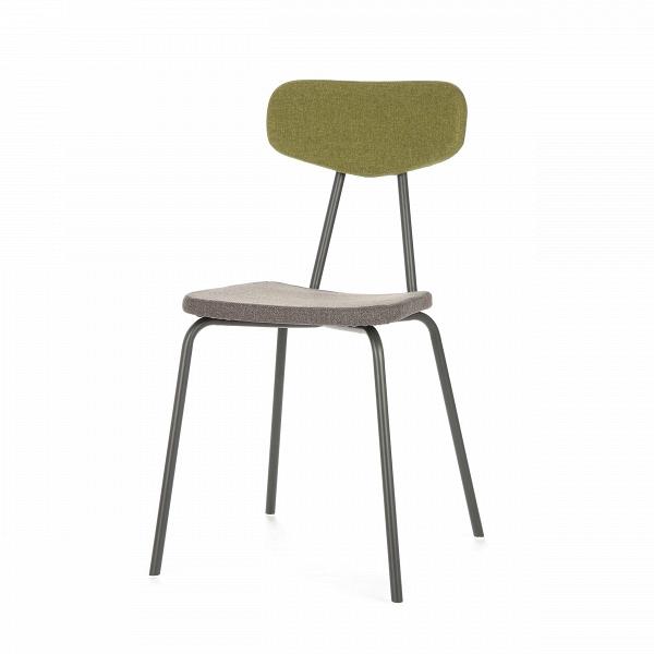 Стул Pavesino 2Интерьерные<br>Простой, классической формы стул Pavesino 2 словно создан дополнять уже готовый интерьер, оттенять его своими строгими, элегантными линиями и формой. Это добротный, универсальный стул, который благодаря отсутствию излишних деталей и декора легко впишется практически в любой тип помещения. Однако итальянский дизайнер Сильвия Марлия все же придала ему свою особенную изюминку — стул обладает очень красивым сочетанием цветов и материалов.<br><br><br> Каркас стула изготовлен из прочной стали темног...<br><br>stock: 6<br>Высота: 81,5<br>Высота сиденья: 47<br>Ширина: 46,5<br>Глубина: 57<br>Цвет спинки: Зеленый<br>Материал спинки: Полиэстер<br>Тип материала каркаса: Сталь<br>Материал сидения: Полиэстер<br>Цвет сидения: Графит<br>Тип материала спинки: Ткань<br>Тип материала сидения: Ткань<br>Коллекция ткани: Gabriel Fabric<br>Цвет каркаса: Темно-серый матовый