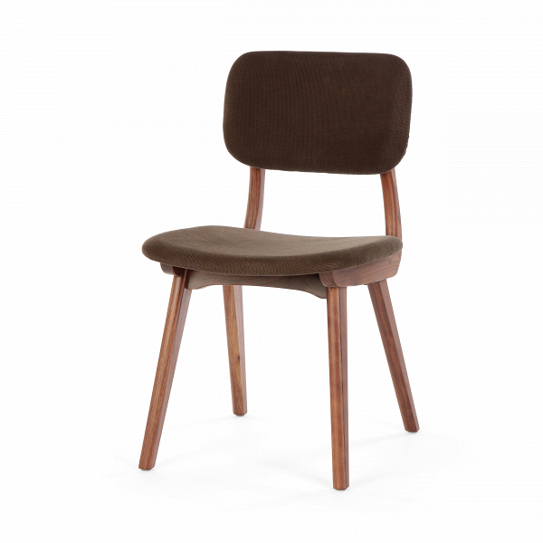 Стул Civil 1Интерьерные<br>Стул Civil 1 — это простой дизайн и комфорт, стиль и изящество элитного дерева. Этот стул будет прекрасно смотреться не только в офисе или кабинете, но и отлично впишется в интерьер вашей квартиры. Благодаря различным расцветкам, имеющимся в наличии, вы сможете подобрать стул, который подойдет именно вам.<br><br><br> В качестве основного материала для изготовления этих стульев используется высококачественная, невероятно прочная древесина американского ореха и белого дуба. Сиденье и спинка стуль...<br><br>stock: 0<br>Высота: 78<br>Высота сиденья: 44<br>Ширина: 45<br>Глубина: 52,5<br>Материал каркаса: Массив ореха<br>Тип материала каркаса: Дерево<br>Материал сидения: Хлопок<br>Цвет сидения: Темно-коричневый<br>Тип материала сидения: Ткань<br>Коллекция ткани: Charles Fabric<br>Цвет каркаса: Орех